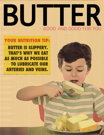 Butter - good and good for you