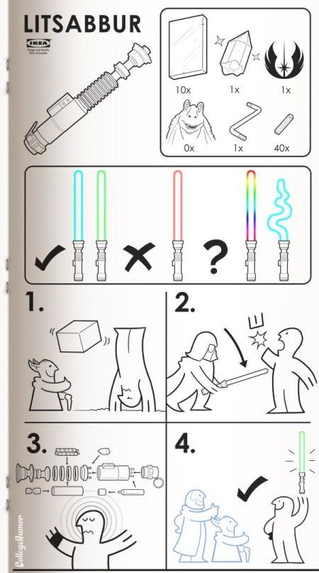 Ikea Light Saber