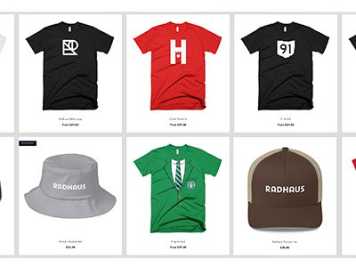 Radhaus Hats Shirts Lifestyle Clothing Brand Clock Tower Collection Radhaus Collection