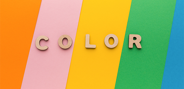 Color as an element of graphic design and brand identity standards manual