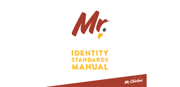 Cover of Identity Standards Manual for Mr. Chicken